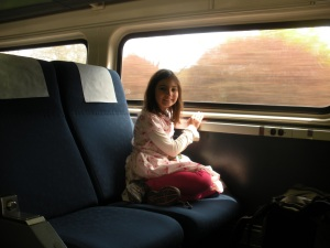Taking train to Milwaukee