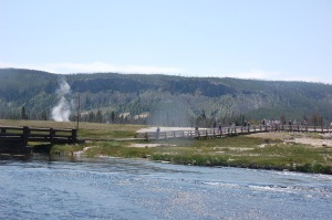 That giant caldera known as Yellowstone National Park