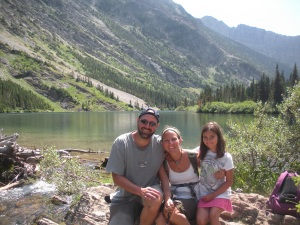One of our favorite mountain lakes- Bertha Lake