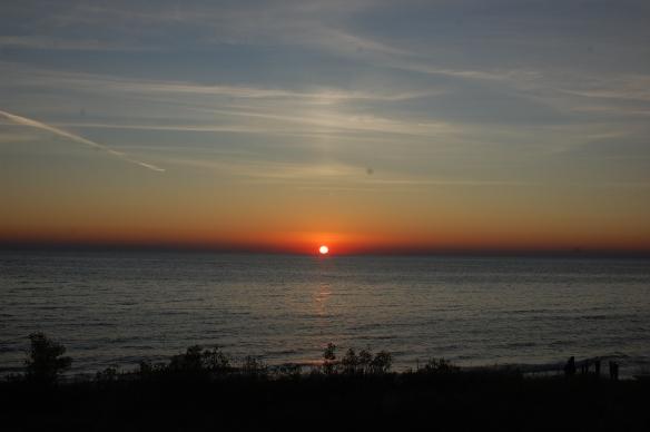 Sunset at Ludington State Park