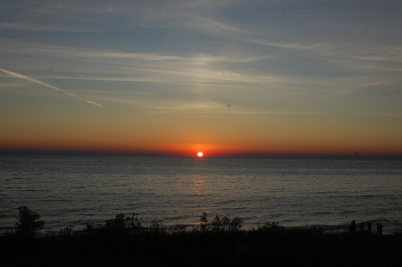 Sunset at Ludington State Park