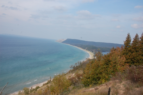 Just a little south of Empire is the easy and wonderful Empire Bluffs Trail. Hennacornoelidays recommended!