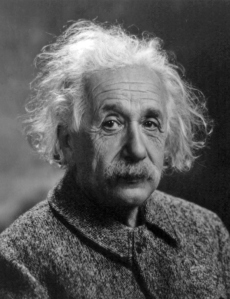 "Albert ""Big Brain"" Einstein"