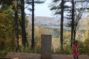 Near the Sparta-Elroy trail