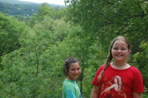Henna and her friend Nicole at Kettle Moraine South Unity