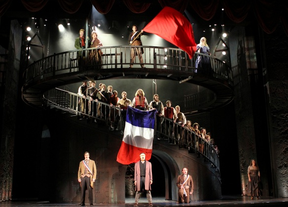 Les Miserables at Paramount Theatre (photo by Charles Osgood)