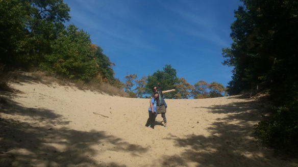 We stopped at Indiana's Dune State Park on the way to South Haven