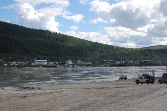 Dawson across the water