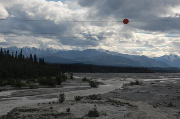 North of Tok on The Alaskan Highway